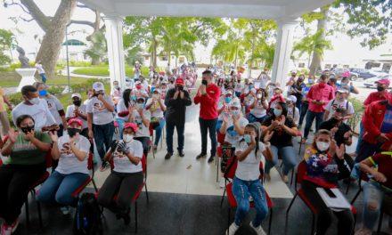 Gobernador Marco Torres sostuvo encuentro con brigadistas del Movimiento Somos Venezuela