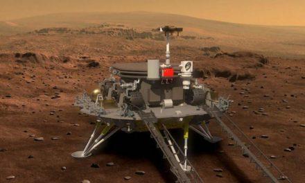 Primera sonda China Tianwen-1 aterrizó en Marte
