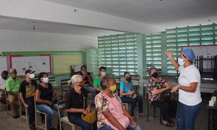 Adultos mayores mariñenses expresaron con alegría su gratitud por hacer posible la aplicación de la vacunación contra covid – 19