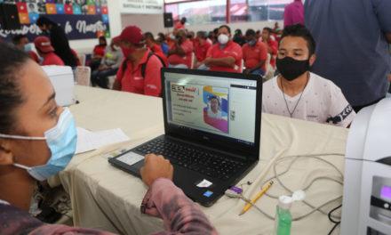 Aragüeños participaron masivamente en jornada de registro y actualización de datos del PSUV