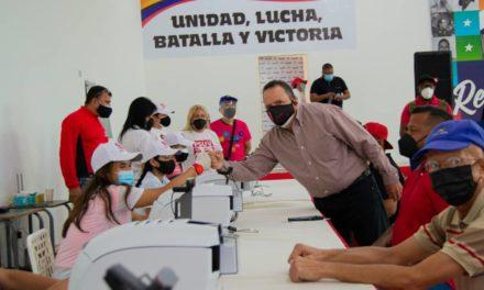 Aragüeños se sumaron a jornada de carnetización y actualización de datos del PSUV
