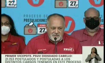 Como un éxito total calificaron las máximas autoridades políticas elecciones de base del Psuv