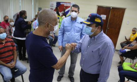Con éxito se desarrolla II fase del Plan de Vacunación Masiva contra la COVID-19 en Aragua