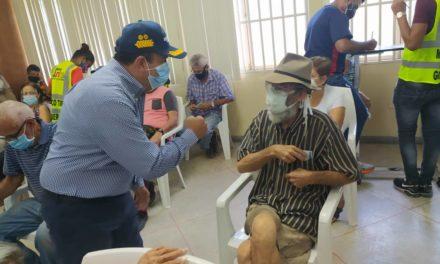 Gobernador Marco Torres continúa acompañando Plan de Vacunación Masiva contra la Covid-19