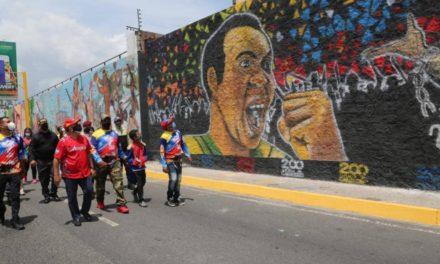 Gobernador Marco Torres inauguró Mural Bicentenario en Maracay