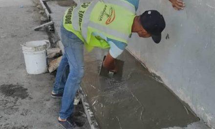 Gobierno Regional realiza trabajo de mantenimiento en el Distribuidor Simón Bolívar