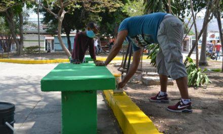 Habitantes de Sorocaima I pronto contarán con parque infantil y biosaludable