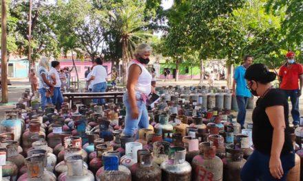 Jornada de gas doméstico favoreció a 400 familias del sector Meregotos en el municipio Sucre