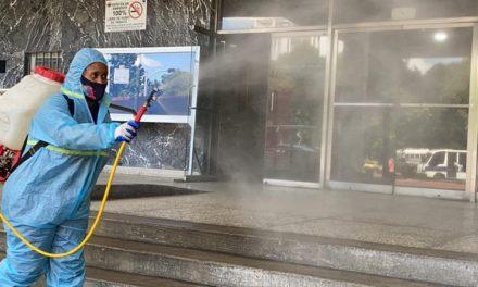 Más de 8 millones de desinfecciones para combatir la COVID-19 se han realizado en el país