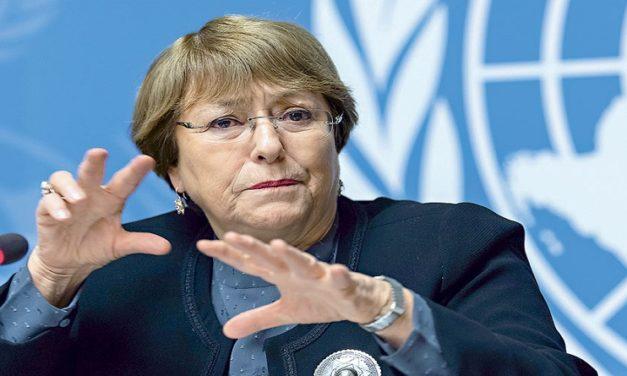 Michelle Bachelet hizo un llamado a mantener la calma y no permitir que la tensión electoral ocasione enfrentamientos en Perú