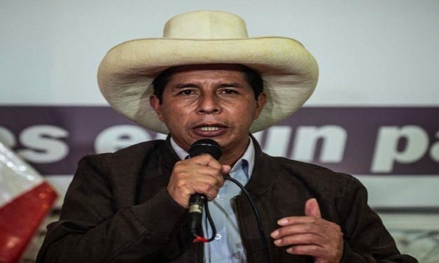 Pedro Castillo rechaza llamados a anular las elecciones de Perú