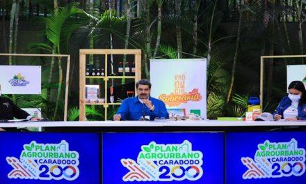 Presidente Maduro exhortó a la población a convertir las ciudades en entes productivos