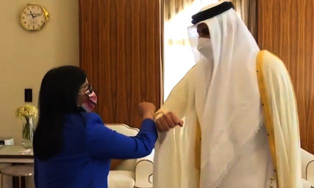 Venezuela fortalece lazos de amistad con su Alteza el Emir Sheikh en Qatar