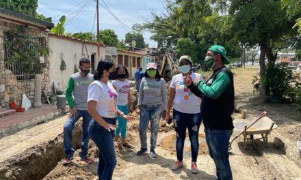 Alcaldía de Mariño reparó colector caído en el sector Los Caobos en beneficio de 400 familias