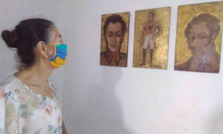 Abierta exposición Vida y Amores de Bolívar en el municipio Ribas