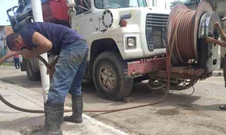 Alcaldía de Linares Alcántara realizó labores de reparación de tuberías de aguas servidas en Santa Inés
