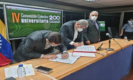 Firman nueva contratación colectiva para el Sector Universitario