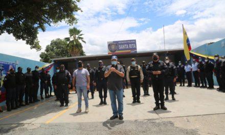 Gobernador Marco Torres reinauguró estación policial en Santa Rita