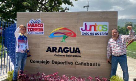 Gobierno Bolivariano reinauguró complejo deportivo en la UD-15 de Caña de Azúcar