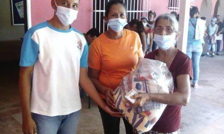Más de 350 familias atendidas en Carmen de Cura con plan de nutrición