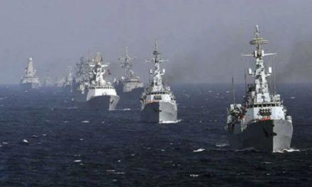China inicia ejercicios navales frente a maniobras de EE.UU. y sus aliados