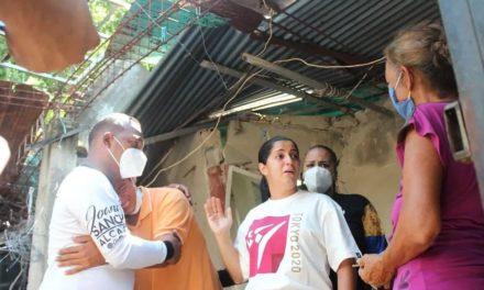 Familias afectadas de Turmerito recibieron atención inmediata de la Alcaldía de Mariño