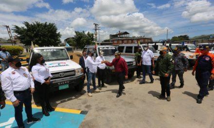 Gobernador Marco Torres entregó 12 vehículos recuperados a los Cuadrantes de Paz del municipio Zamora