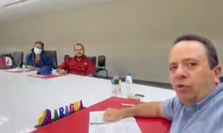 Gobernador Marco Torres entregó motor y bomba para reactivación de pozo en Camatagua