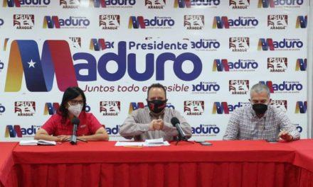 Gobernador Marco Torres y candidata por el PSUV Karina Carpio realizaron mesa de trabajo rumbo a las elecciones del 21-N