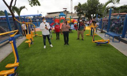 Gobierno Bolivariano inauguró plaza Mariño en el municipio Santos Michelena