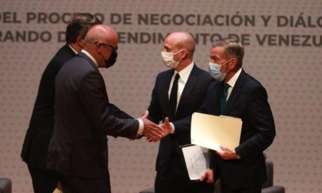 Gobierno legítimo venezolano y fracción opositora iniciaron proceso de diálogo en México