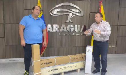 Gobernador Marco Torres hizo entrega de motores y bombas para reactivar pozos de agua en el municipio Libertador