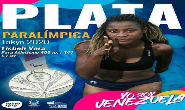 Lisbeli Vera gana la medalla de plata en los Juegos Paralímpicos de Tokio 2020