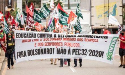 Protestan contra pdte. de Cámara por frenar juicio a Bolsonaro