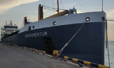 Llegaron a Falcón tres buques con contenedores de alimentos para los Clap