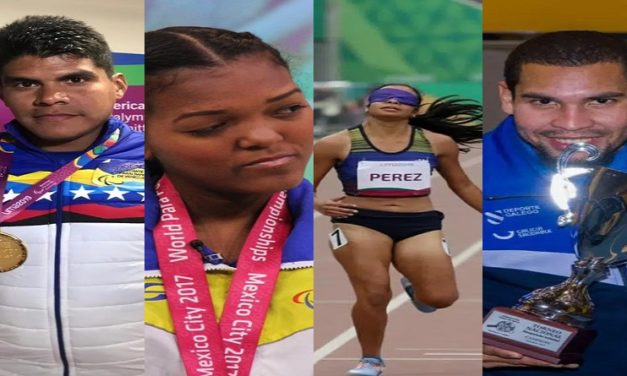 Un total de 26 atletas venezolanos participan desde este martes en los Paralímpicos de Tokio