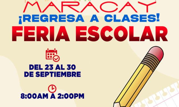 Alcalde Rafael Morales invita a la feria escolar ¡Maracay Regresa a Clases!