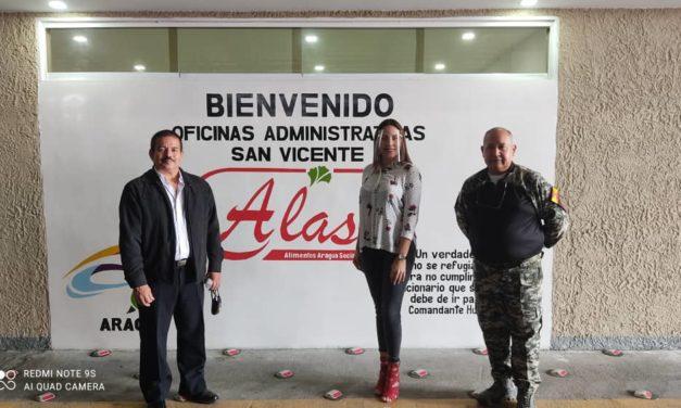 Contraloría del Estado Aragua arrancó jornada de visitas institucionales desde la empresa de alimentos Alas