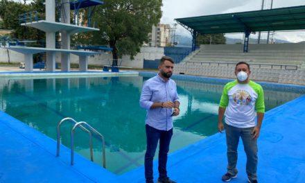 Ejecutivo regional rehabilitó piscinas del Polideportivo Las Delicias