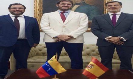 España y Venezuela sostienen encuentro para tratar temas de relación bilateral