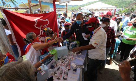 Gobierno Bolivariano benefició más de 3 mil habitantes de Rosario de Paya con jornada de atención a las víctimas del bloqueo económico