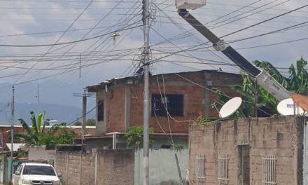 Alcaldía de Linares Alcántara reportó avances en el restablecimiento del servicio eléctrico