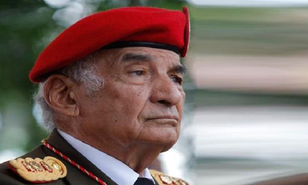 Gobierno Nacional lamenta el fallecimiento del General en Jefe Jacinto Pérez Arcay