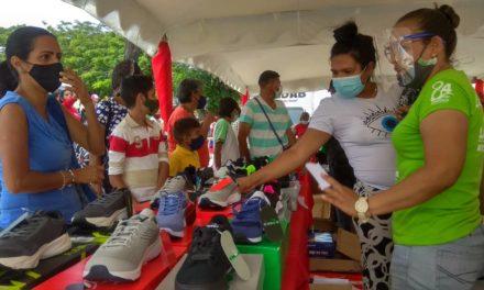 Gran Feria del Calzado y Plan Z se instaló en Palo Negro