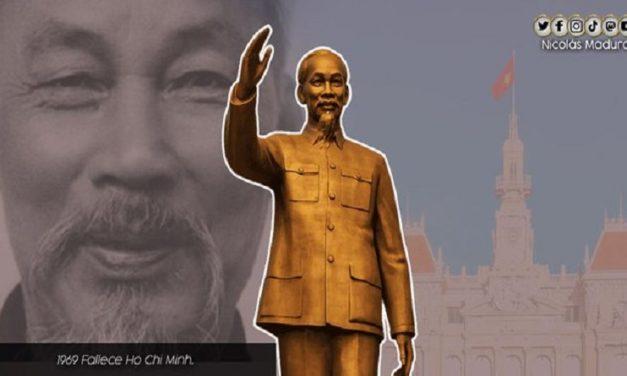 Venezuela rinde homenaje al líder vietnamita Ho Chí Minh a 52 años de su siembra