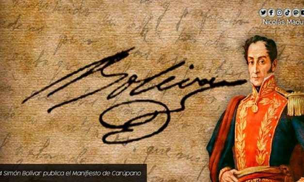 A 207 años del Manifiesto de Carúpano el pueblo venezolano asume la defensa de los derechos frente a las pretensiones de los enemigos de la Patria