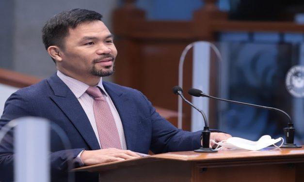 Manny Pacquiao disputará la Presidencia en Filipinas en 2022