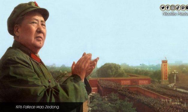 Se cumplen 45 años de la siembra del Gran Timonel de la Revolución China, Mao Zedong