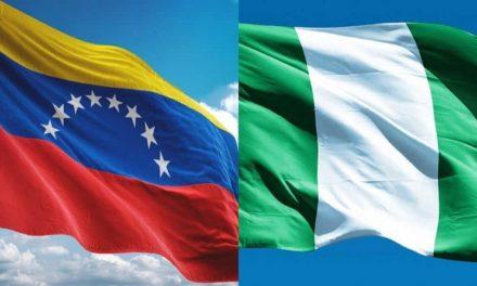 Nigeria y Venezuela fortalecen relaciones bilaterales, el Derecho Internacional y el multilateralismo