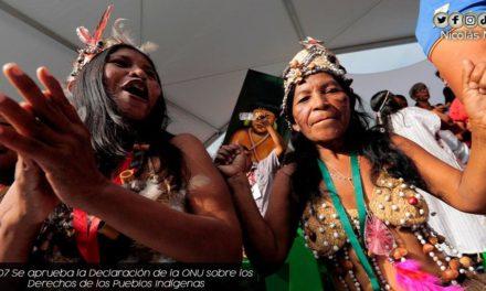 Presidente Maduro ratificó continuidad de políticas públicas en defensa de derechos de los indígenas